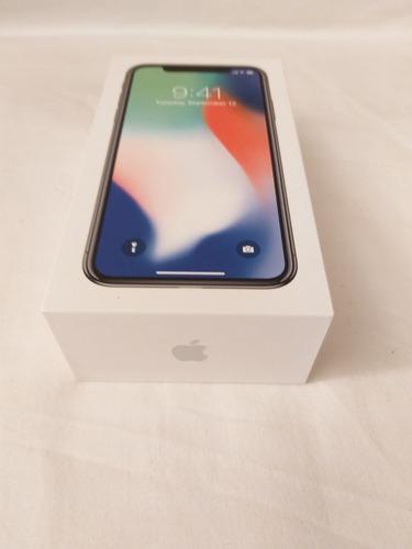Caja de iphone x 256gb