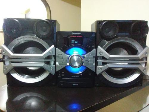 Equipo de sonido panasonic sa-akx58 potente 16500w bluetooh