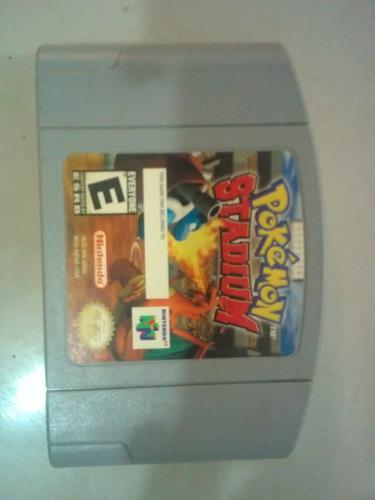 Juego casset nintendo n64 pokemon stadiu leer descripcion 12