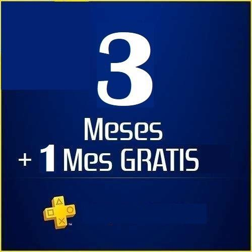Playstation psn plus 3 meses para ps4 ps3 y ps vita