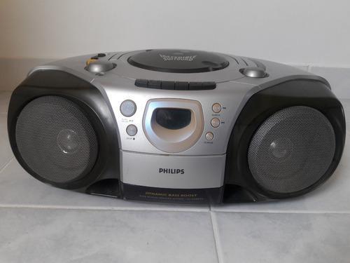 Reproductor philips cd radio cassette