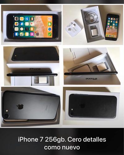 Iphone 7 de 256gb cero detalles