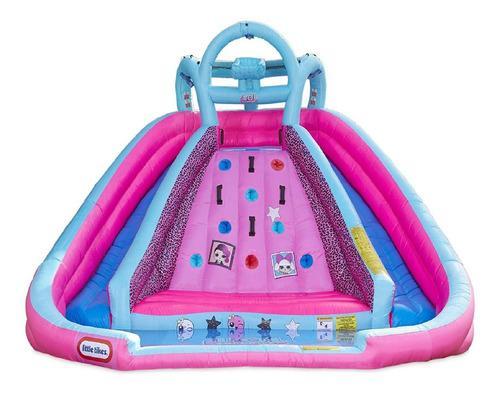 Castillos inflables agua muñecas lol surprise niñas