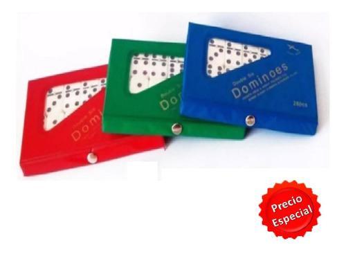 Juego de domino en colores variados diviertete y comparte