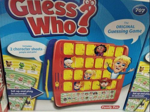 Juego de mesa adivina quien regalo niños divertido