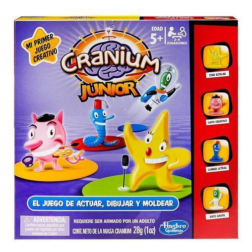 Juego de mesa cranium junior de hasbro niños