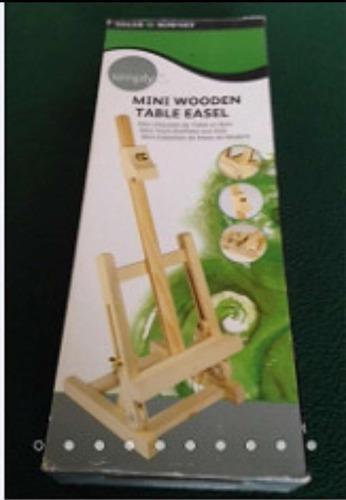 Mini caballete de madera