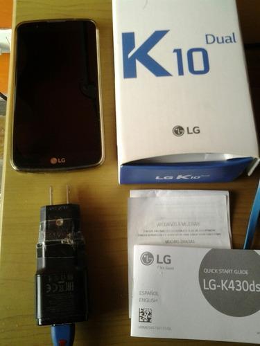 Celular lg k10 perfectas condiciones