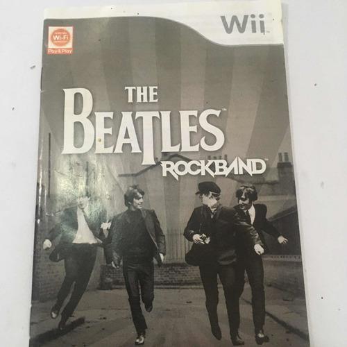 Juego Wii Original. The Beatles Rock Band. 10 Vdes