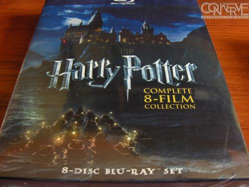Harry potter box set bluray the complete 8 film collection