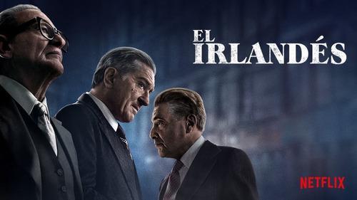 Película el irlandés (2019) full hd combo de 10 estrenos