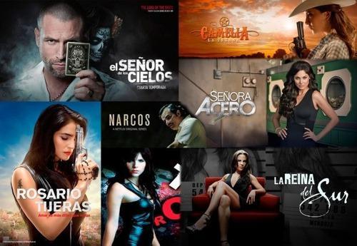 Series Y Telenovelas Mexicanas Full Hd Combos De 3 Series