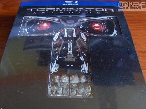 Terminator anthology box set bluray original nuevo y sellado