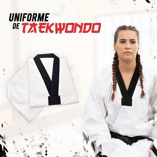 Uniforme De Taekwondo Blanco Talla 4 Marca Banzai