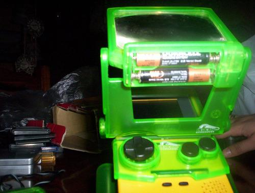 Accesorio color game boy flip-n-light light magnifier