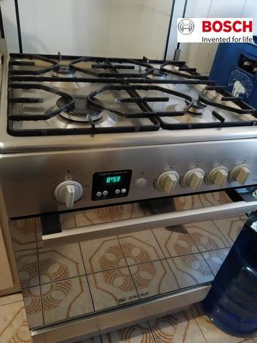 Cocina a gas bosch 4 hornillas y timer
