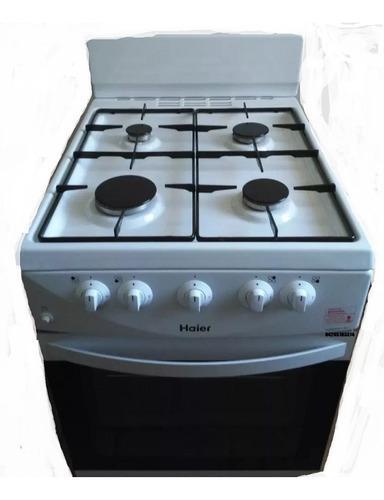 Cocina a gas de 4 hornillas con horno