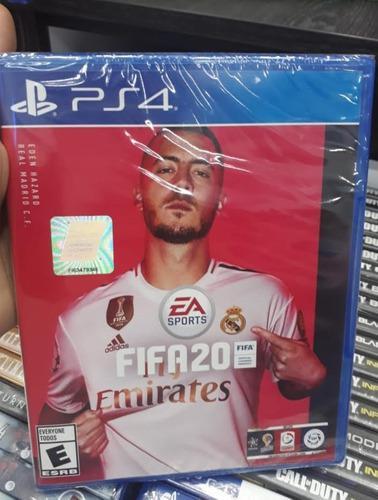 Fifa 2020 playstation 4 ps4. juego físico nuevo