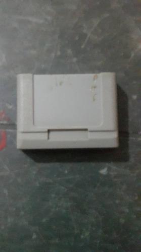 Memory card para la consola nintendo 64 (memorycontrollpak)