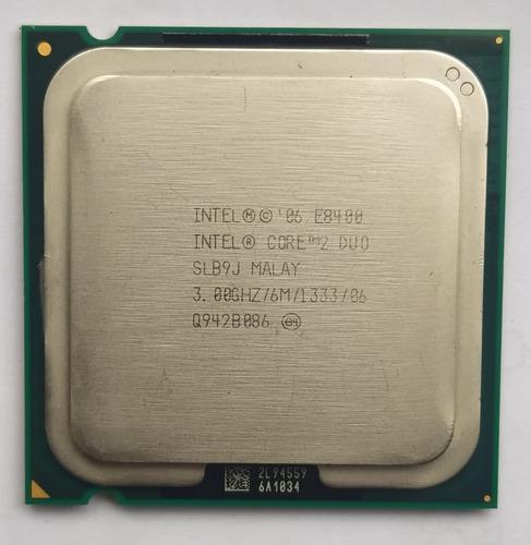 Procesador intel core2 duo e8400 3.0ghz cocket 775 $10