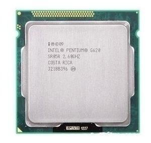 Procesador intel pentium g620 2.60 ghz socket lga 1155