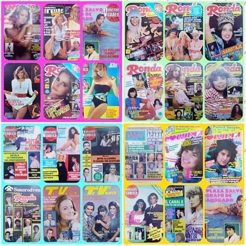 Revistas de farandula (grandes) 80s coqueta, vzla grafica