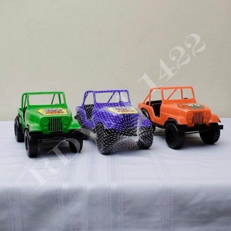 Carrito Jeep 4x4 Juguete Plástico Al Mejor Precio