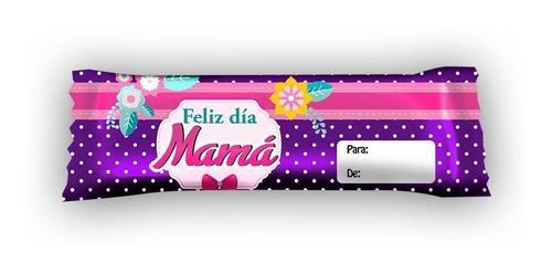 Envolturas para chocolates feliz dia de las madres 60 unid