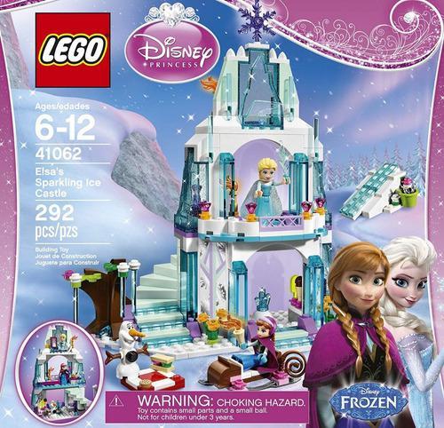 Lego disney frozen 41062 el brillante castillo 292 pzs(55v)
