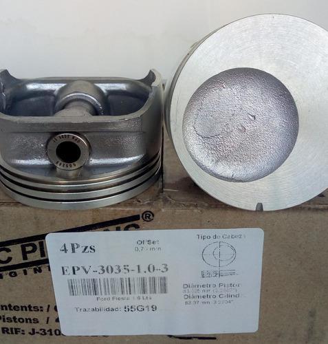 Pistones ford fiesta/ ecosport 1.6 en medida 040 pc pistons