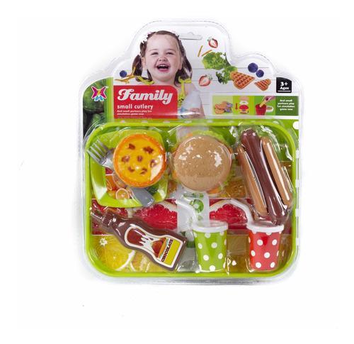 Set de comida de juguete xj326h-16