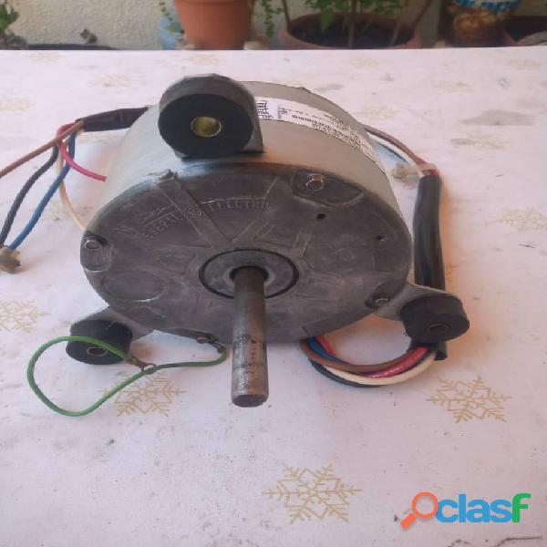 Motor ventilador para a/a doble eje monofasico marca: ge 1/3 hp