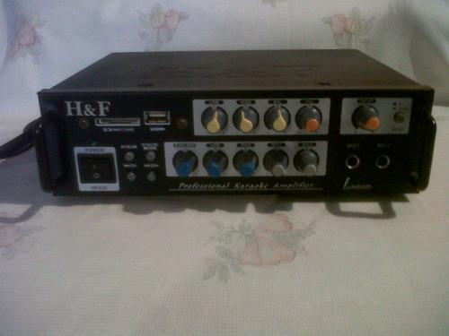 Amplificadores de sonido y cajones