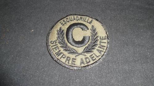 Antiguo parcho de la escubafan, escuadrilla c, 1 verde leer
