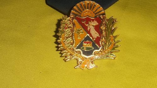 Remato escudo metalico, policia de aragua, 1 verde, leer