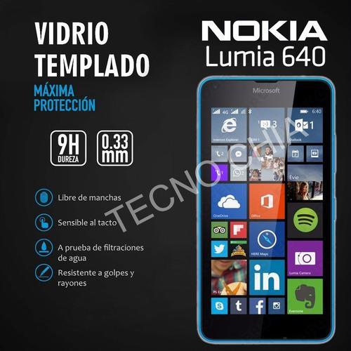 Vidrio templado glass para microsof nokia lumia 640