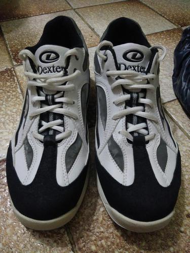Zapatos de bowling dexter para caballeros talla 9.5