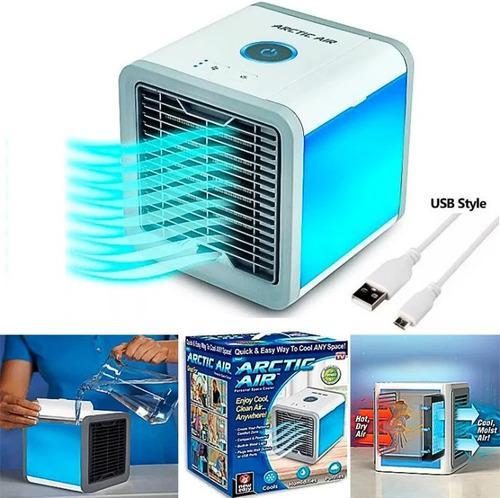 Aire acondicionado portatil artic usb 3 en 1 frío tienda