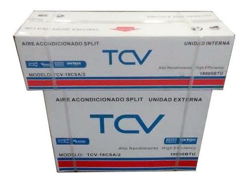 Aire acondicionado split 24000 btu 220v tcv cnr-0692