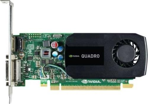 Tarjeta de video nvidia quadro k600 1gb ddr3 128bits