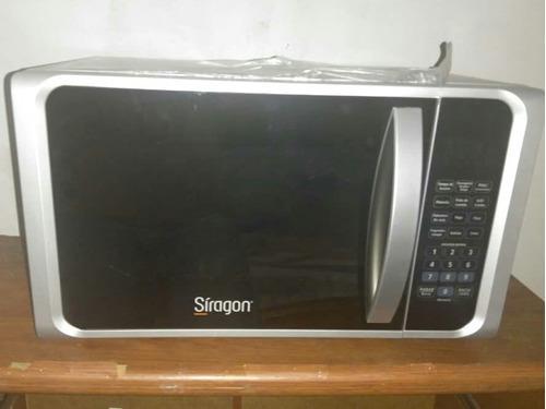 Horno Microondas Siragon Mc5000. Pantalla Tipo Espejo