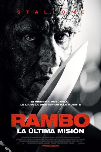 Película rambo: last blood full hd 1080p en combos.