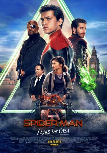Pelicula spiderman lejos de casa combo de 10 titulos full hd