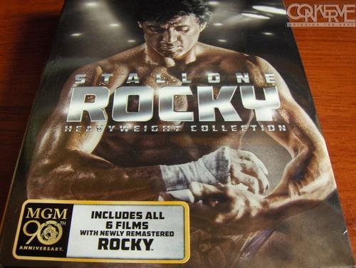 Rocky heavyweight collection (blu-ray box set)