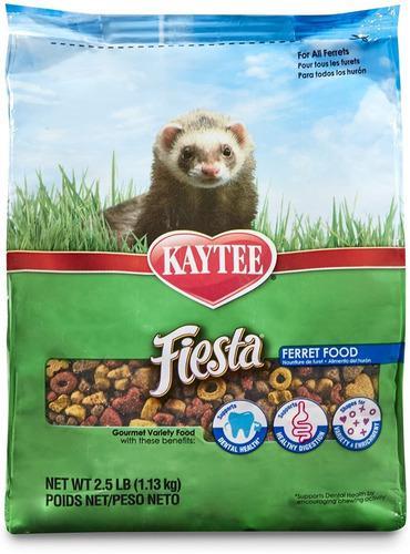 Alimento kaytee fiesta hurones 2,5 lb / 1.13 kg