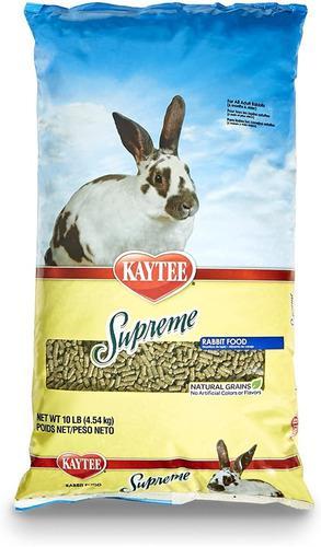 Alimento kaytee supreme conejos 10 lb / 4,54 kg