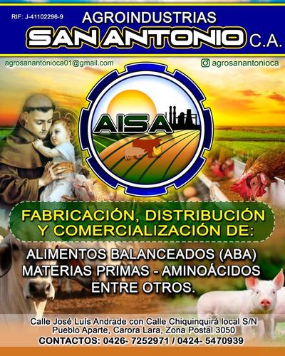 Alimentos balanceados para animales (aba)