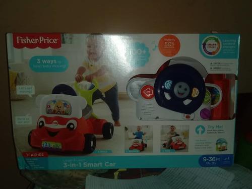 Carro andadera fisher price juguete