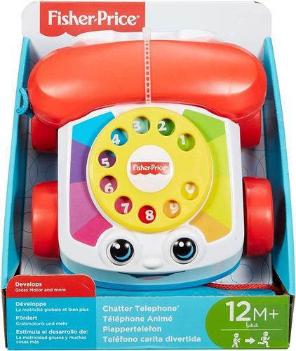 Fisher price teléfono juguete didáctico niño niña bebe