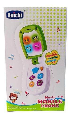 Juguete musical telefono sonido para bebes juguete